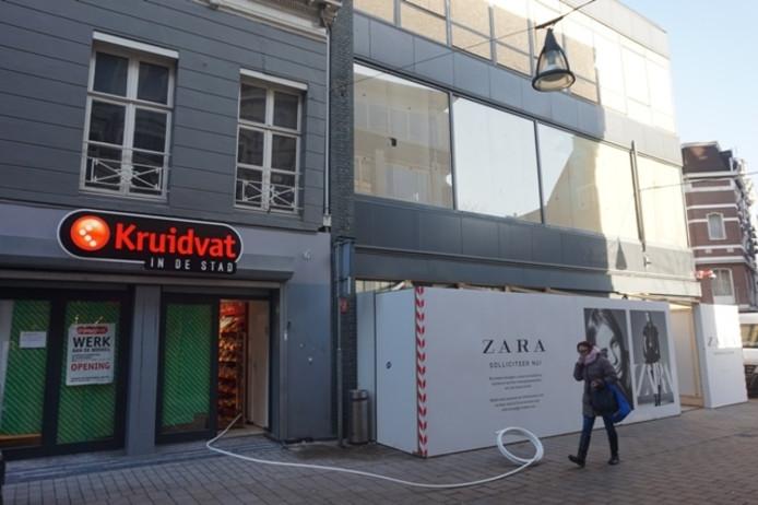 Zara 39 coming soon 39 nieuw concept kruidvat 39 dolcis pand for Kruidvat den bosch