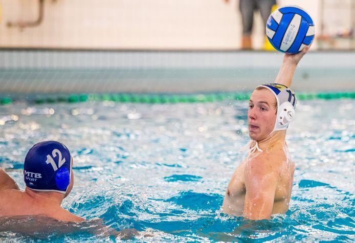 Ruud Tilleman van Aqua Novio in een eerdere wedstrijd.