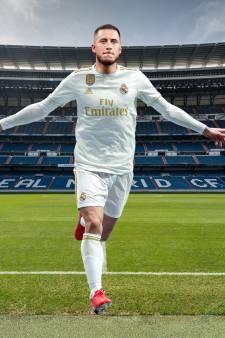 Le maillot qu'Hazard va porter au Real Madrid dévoilé