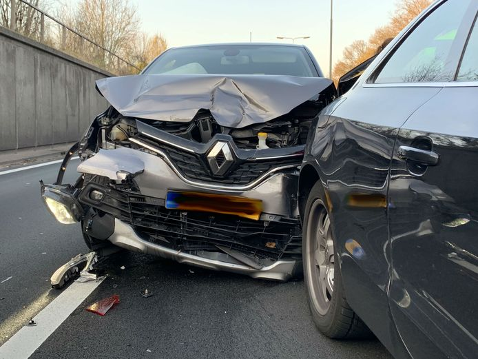 Ongeval A65 bij Vught.