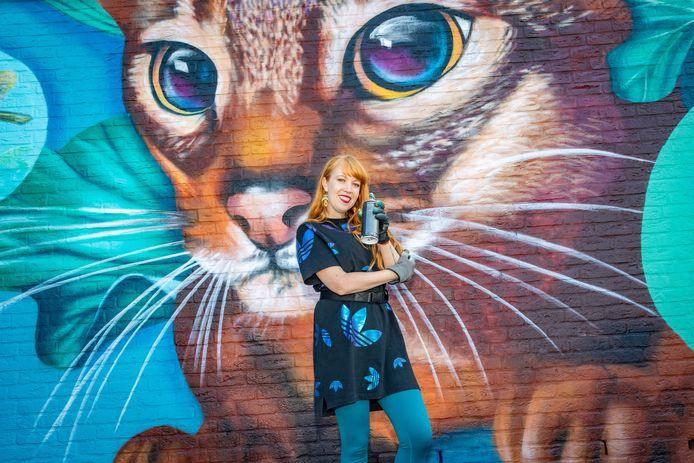 Nina Valkhoff, mural artist