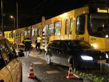 Tram in botsing met auto op Westplein Utrecht