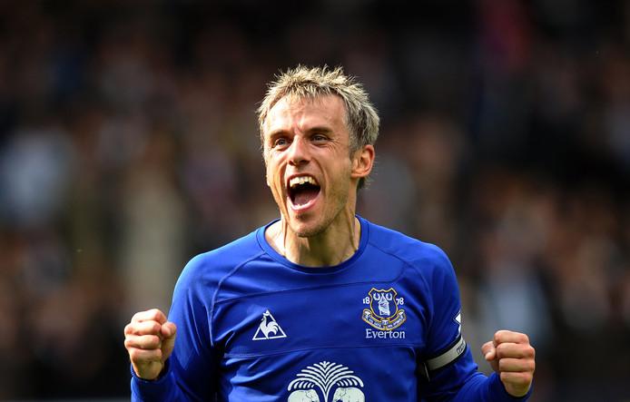 Neville sloot zijn carrière als voetballer af bij Everton.