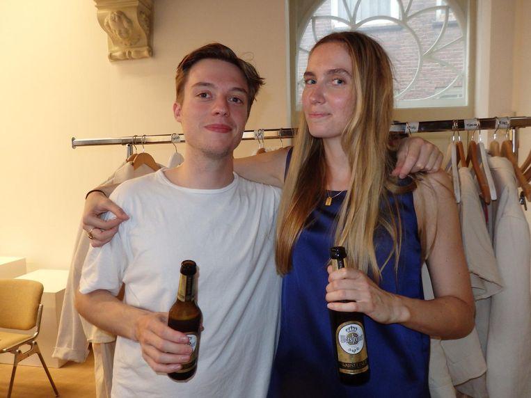 Ontwerpers Camiel Fortgens en Barbara Langendijk. Beeld Schuim