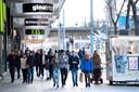 In Stockholm wordt nog volop gewinkeld.