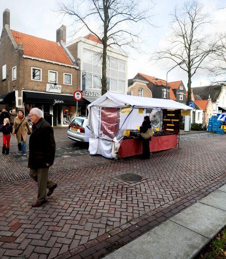 Heibel onder kooplieden op de weekmarkt van Oisterwijk
