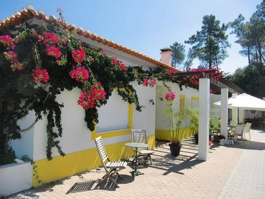 Bed and breakfast Quinta Verde in Salir de Matos, een plaatsje 90 km boven hoofdstad Lissabon