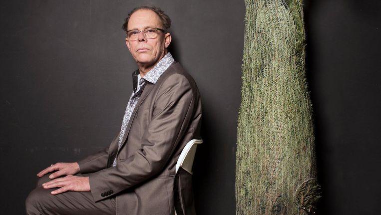 F. Starik was van 2010 tot 2012 stadsdichter van Amsterdam Beeld Harmen de Jong