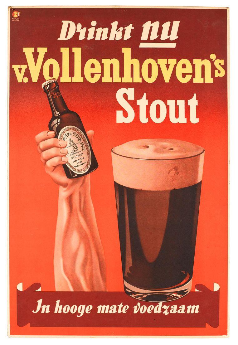 Een advertentie voor Van Vollenhoven's Stout Beeld -