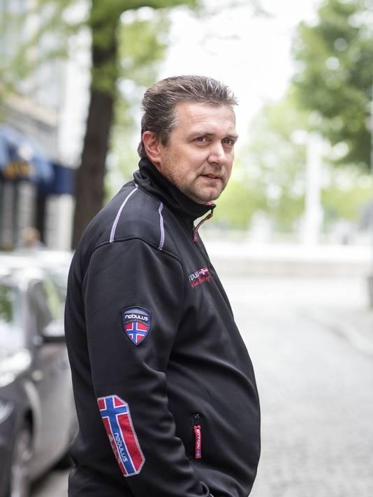 Gemeenteraadslid en voormalig beveiliger coffeeshop Jo Smeets.