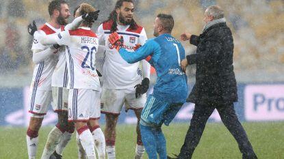 Denayer en Lyon houden stand in winterse toestanden van Shakhtar en maken zich op voor achtste finales