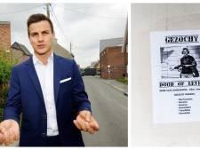 'Dood of levend'-poster wekt woede bij politicus: 'Kweek eens ballen, laffe loser!'