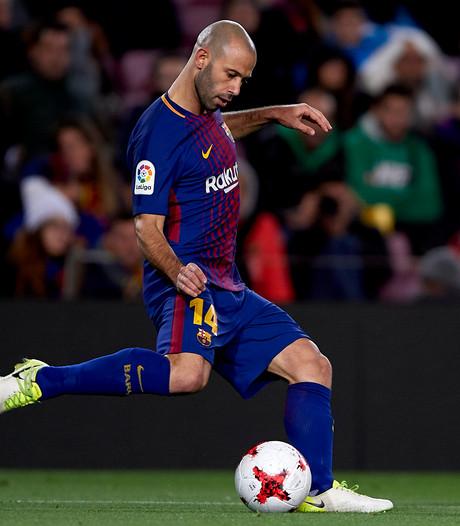 Barça neemt per direct afscheid van Mascherano, China lonkt