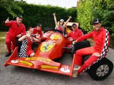 Carnavalsvereniging uit Ootmarsum biedt Ferrari voor een prikkie aan