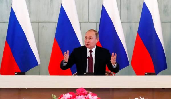 Poetins troef: wijs naar het Westen