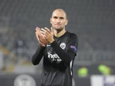 Bas Dost staat rest van het jaar aan de kant bij Eintracht Frankfurt