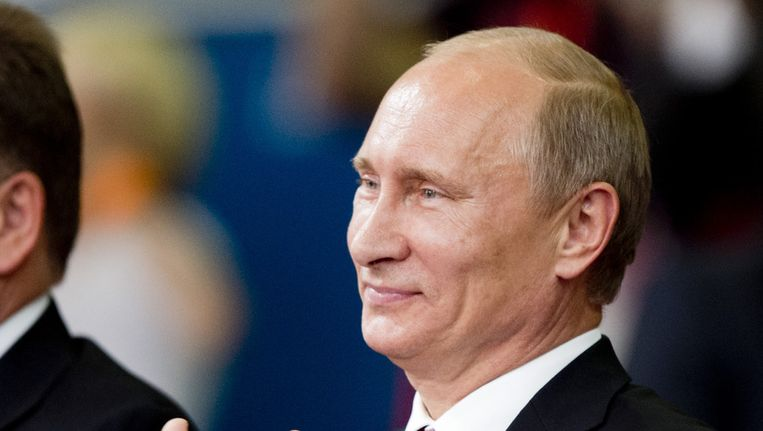 Russische president Vladimir Poetin Beeld ANP