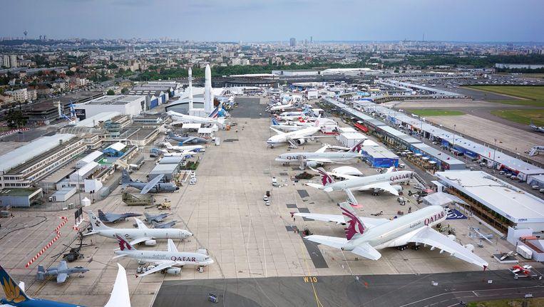 Vliegveld Le Bourget in Parijs. Beeld anp