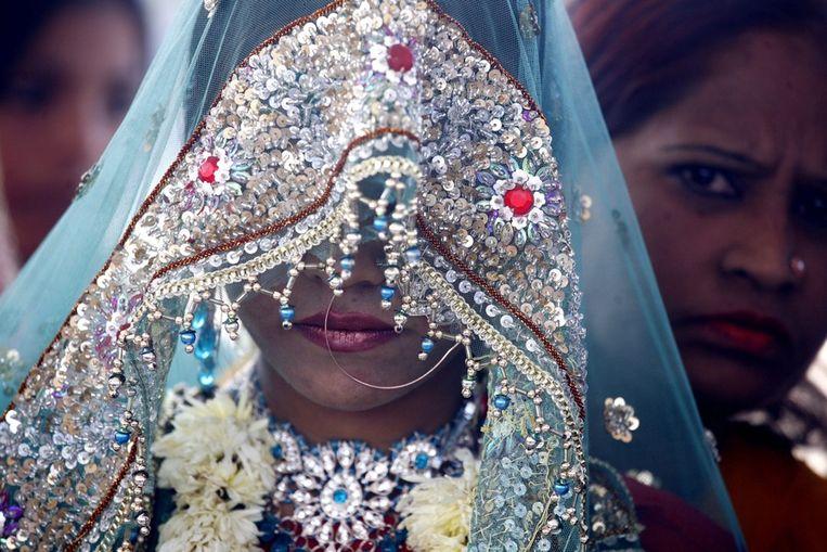 Een Indiase bruid Beeld ANP