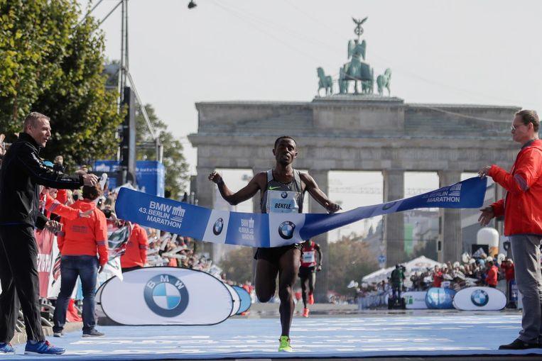 2016, Winnaar Kenenisa Bekele Beeld ap