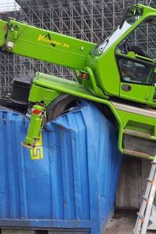 Bouwvakkers aan dood ontsnapt na val enorme hijskraan bij Utrecht CS