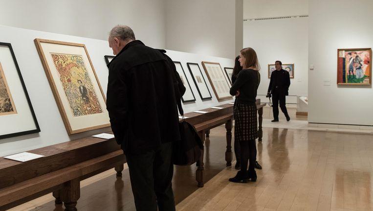 Een Ensor-tentoonstelling in Londen.