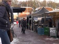 Handjevol handelaren op weekmarkt Ermelo: 'wij komen altijd'