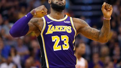 LeBron James boekt eerste overwinning met LA Lakers, Curry schittert tegen de Wizards