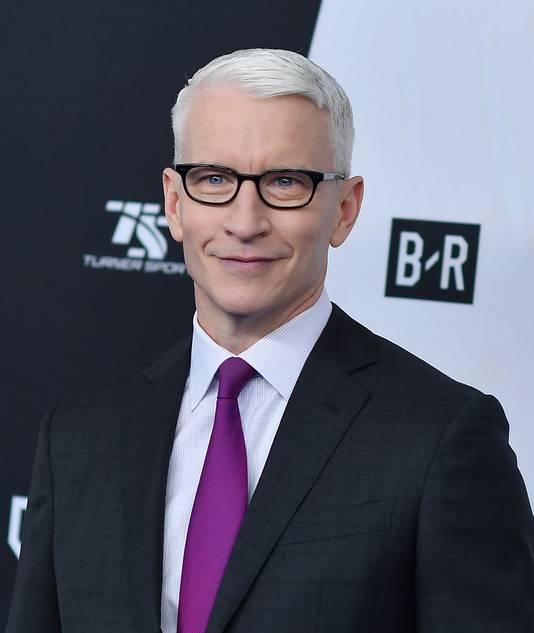Presentator Anderson Cooper.