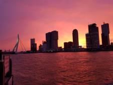 Rotterdam verrast met prachtige lucht