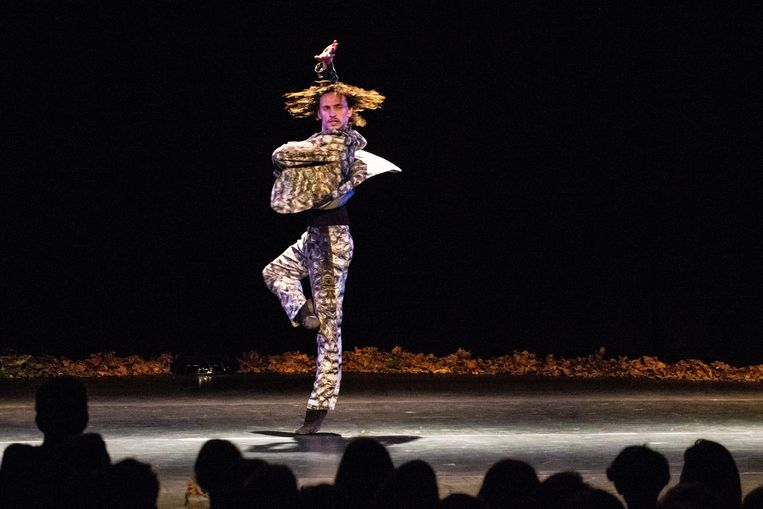 Balletdanser Sergei Polunin. Beeld Ben Houdijk