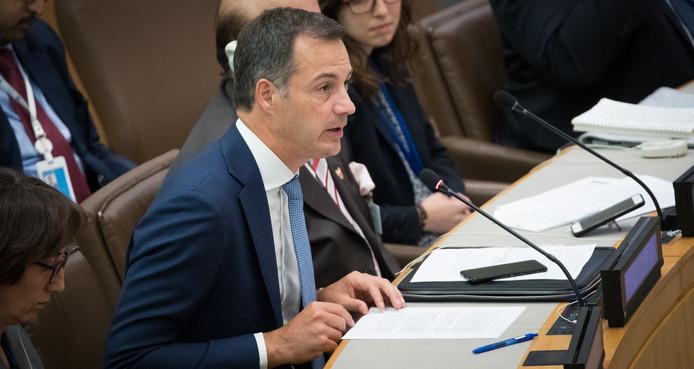 Alexander De Croo, le ministre belge des Finances.
