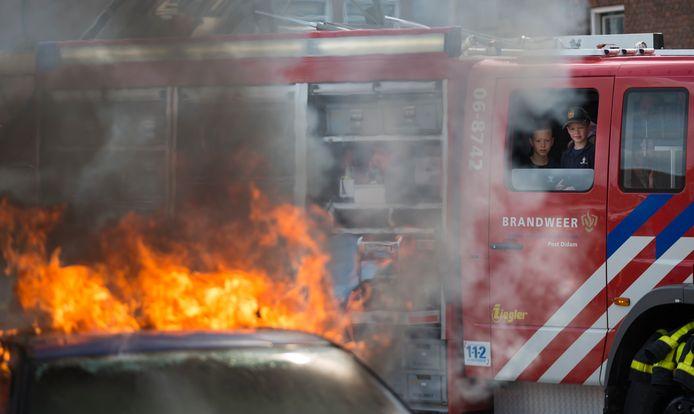 De post Didam is één van de brandweerposten die een bluswagen moeten inleveren. Archieffoto Bart harmsen