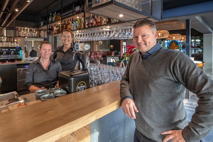 Bosschenhoofd - 04-12-2018 -  Restaurant de Cockpit heeft een nieuw interieur gekregen, Sven Luijks. Foto Pix4Profs/Peter Braakmann