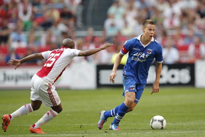 Niklas Moisander hier nog in actie tegen Ajax.