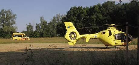 Traumahelikopter ingezet bij ongeval met scooter in Harderwijk