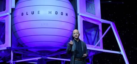 Le patron d'Amazon vise la Lune