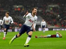 Eriksen bezorgt Tottenham in extremis overwinning