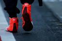 De schoenen van Max.