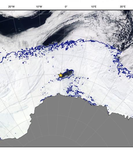 Reusachtig gat in ijs Antarctica verbaast pooldeskundigen