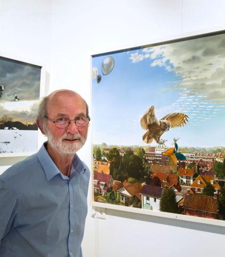 Elk schilderij is een ontdekkingstocht voor Louis Nijhuis