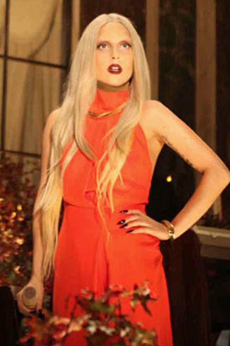 Lady Gaga's ongewassen jumpsuit te koop
