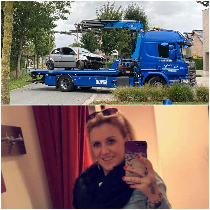 Stefanie Verstappen kwam om het leven bij een ongeval in de Noordhoutstraat.