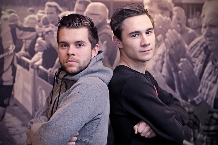 Roy van der Heijden (links/Keldonk) en Bart van de Oever (rechts/VOW)