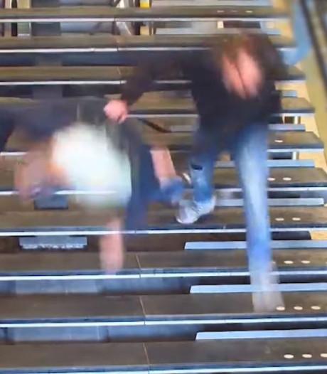 Vluchtende winkeldief die man van trap duwde op Utrecht CS  moet vijf maanden de cel in