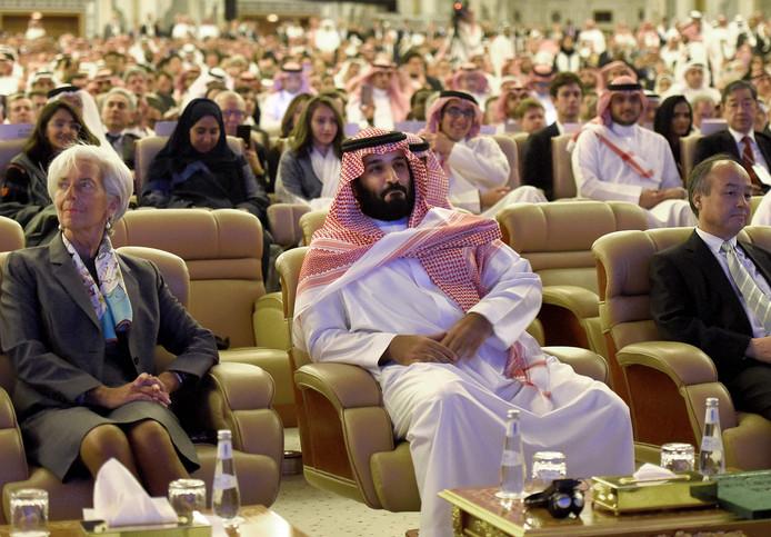 De investeerdersconferentie in Riyad in Saoedi-Arabië trok vorig jaar duizenden topmanagers uit heel de wereld.