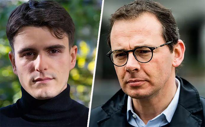Conner Rousseau et Wouter Beke