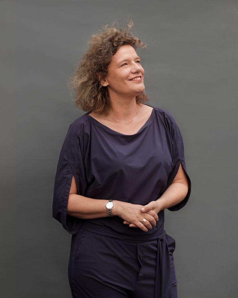 Carolien Gehrels: 'Ik ben een neerlandica bij een ingenieursbedrijf. Iedereen heeft onvermoede talenten.'  Beeld Frank Ruiter
