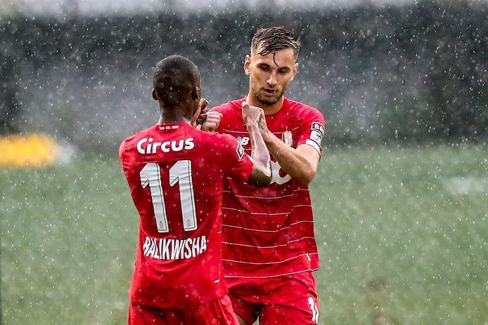 Balikwisha blij met een goal van Dragus in een oefenmatch tegen Waremme.