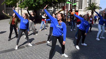 Pop-up danslessen op Grote Markt